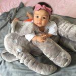 Baby-Elephant-Pillow-Animals-Toys-No-blanket-Soft-Plush-Dolls-Toddle-Safe-Sleep-Calm-Toys-Room